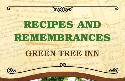 Cookbook Title Recipes and Remembrances Green Tree Inn